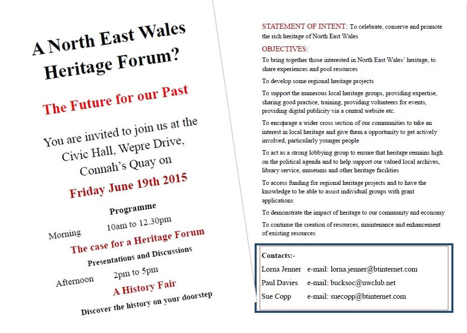 North East Wales Heritage