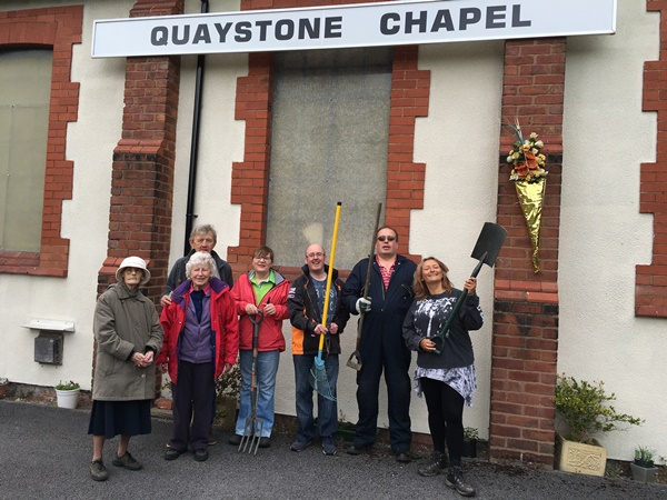 Community Gardening for Local Church in Connah's Quay